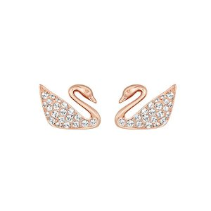 Swan Crystal Stud Earrings