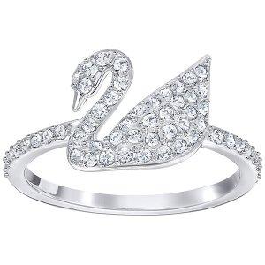 Iconic Swan Ring - Jewelry - Swarovski Online Shop