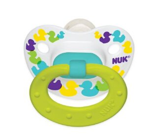 $1.97 NUK Confetti Ducks Orthodontic Silicone Pacifier