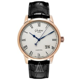 Dealmoon Exclusive! $9,288(reg. $22,700) Glashutte Men's Senator Panorama Date Watch