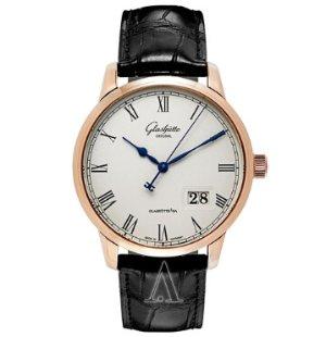Dealmoon Exclusive! $9,288(reg. $22,700)Glashutte Men's Senator Panorama Date Watch