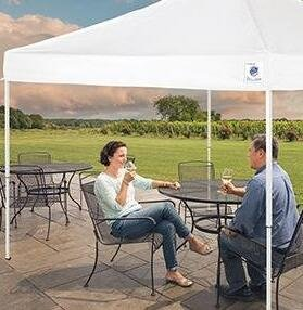 From $105.99 Select E-Z Up Instant Shelter Canopies @ Amazon.com