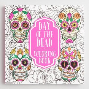 Day of the Dead Coloring Book | World Market
