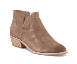 Unlined Suede Bootie - Shoes - T.J.Maxx