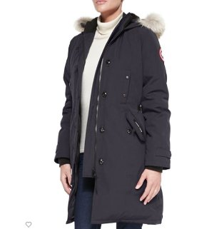 Up to $1200 Gift Card Canada Goose Kensington Fur-Hood Parka @ Neiman Marcus