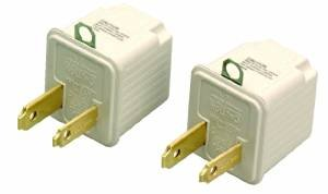 $1.13 Coleman Cable 9901 3-Prong To 2-Prong Adapter Converter, 2-Pack