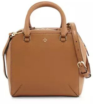 Tory Burch Robinson Pebbled Mini Satchel Bag @ Neiman Marcus