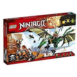 $29.84LEGO Ninjago 70593 忍者绿神龙 567颗粒
