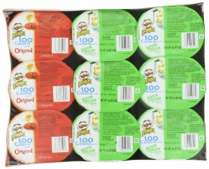 $4.73 + Free Shipping Pringles 2 Flavor Snack Stacks, 0.63 Ounce, 18 count