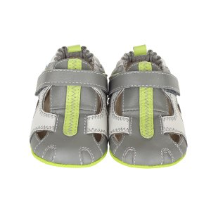 Grey Rugged Rob Mini Shoez Baby Shoes | Robeez