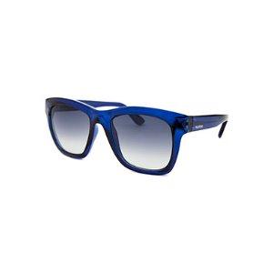 Valentino Women's Square Translucent Blue Sunglasses