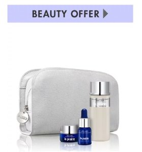Free Exclusive + Beauty Samples with $125+ La Prairie purchase @ Neiman Marcus