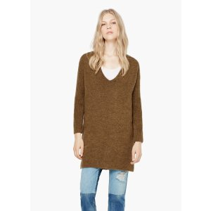 Long knit sweater - Women | OUTLET USA