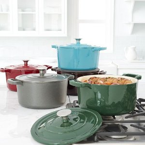 2016 Black Friday! $42.49+$10MIR Food Network 5.5-qt. Enameled Cast-Iron Dutch Oven
