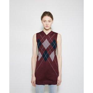 VETEMENTS | Argyle Sweater Vest | Shop at La Garçonne