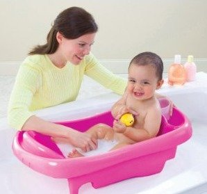 $16.18 The First Years Sure Comfort Deluxe Newborn To Toddler Tub