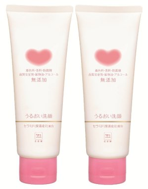$7.39 Cow Brand Gyunyu Non Additive Facial Cleansing Foam Moist, 0.5 Pound 2 Packs