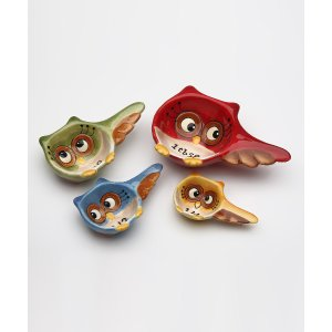 Sugar High Social Owl Measuring Spoon Set | zulily