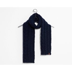 Cable Knit Scarf | Dark Blue |Levi's® United States (US)