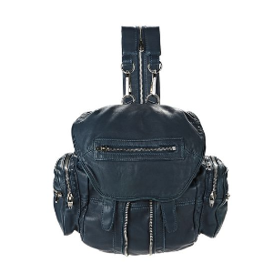 MINI MARTI IN WASHED PETROL WITH RHODIUM | BACKPACK | Alexander Wang Official Site