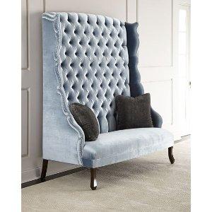 John-Richard Collection Eliza 高背沙发椅