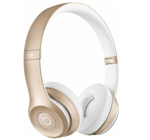 Beats by Dr. Dre Solo 2 On-Ear Wireless Headphones Gold