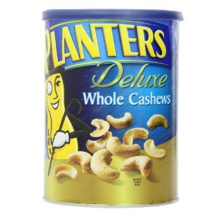 Planters Deluxe Whole Cashews, 18.25 Ounce : Snack Cashews