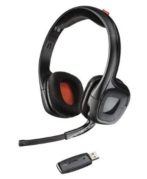 Plantronics Gamecom 818 Wireless Stereo Headset for PC, Mac and PlayStation 4