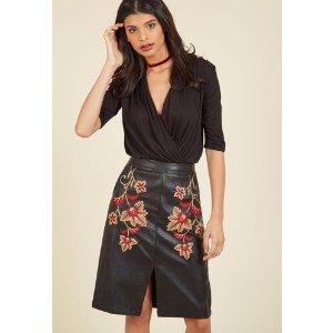 Heart of Bold Pencil Skirt
