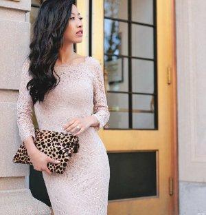 $187.92(org. $348), 46% Off Diane von Furstenberg Zarita Lace Scoopneck Dress Sale @ Saks Fifth Avenue