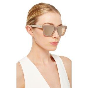 Rectangular Sunglasses by Linda Farrow | Moda Operandi