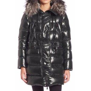 Moncler Aphrotiti Fur-Trimmed Puffer Jacket