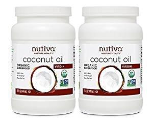 $12.49 Nutiva Organic Coconut Oil, Virgin, 15 Ounce (Pack of 2)