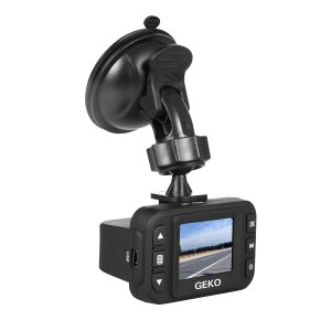 Geko E100 Full HD Dashboard Camera Video Recorder (Black)