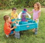 $29.62 Little Tikes Sandy Lagoon Waterpark Play Table, Teal/Green