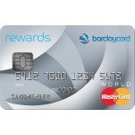 2X Points on Gas, Utility and Grocery Store Barclaycard Rewards MasterCard®