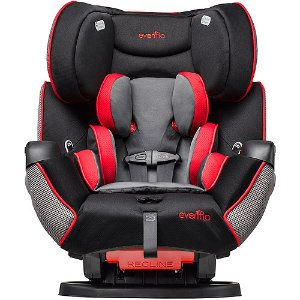 Evenflo Symphony LX All-in-1 Convertible Car Seat, Kronus - Walmart.com