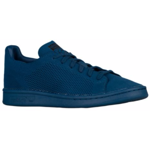adidas Originals Stan Smith Primeknit - Boys' Grade School - Casual - Shoes - Tech Steel/Tech Steel/Black