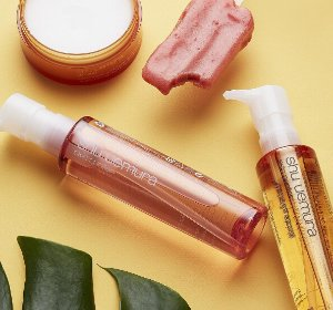 Free Deluxe Cleansing Oils + Makeup Pouch + Free Shipping on Orders over $50 @ Shu Uemura USA
