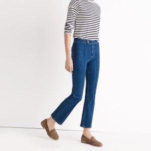 Rivet & Thread Pintuck Demi-Boot Jeans
