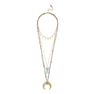 Athens Tiered Necklace | BaubleBar