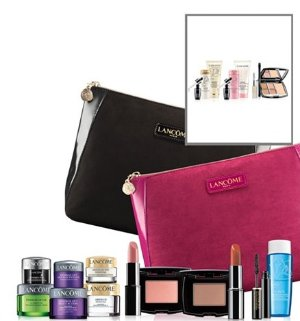 Free 4-pc Gift Set with Lancome Purchase of $35 @ macys.com