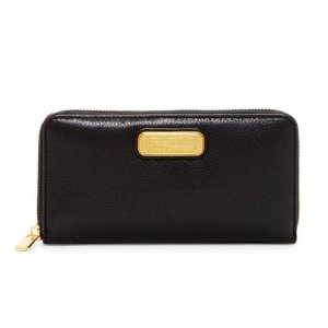 Marc by Marc Jacobs Vertical Zippy Leather Wallet
