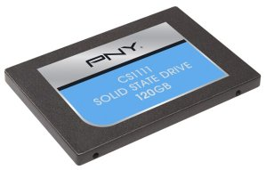 PNY CS1100 120GB Internal SATA III Solid State Drive Black
