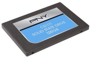PNY CS1100 120GB Internal SATA III Solid State Drive Black