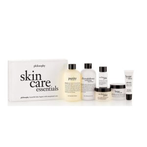 philosophy skin care essentials skin care set