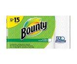 Bounty® Paper Towels, White, 12 Large Rolls = 15 Regular Rolls (88197) | Staples®