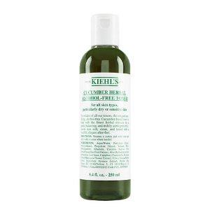 KIEHL'S SINCE 1851 Cucumber Herbal Alcohol-Free Toner 8.4oz