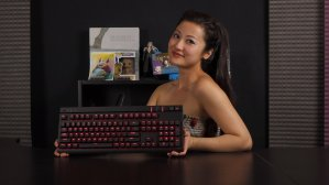 Corsair STRAFE Cherry MX Red Mechanical Gaming Keyboard