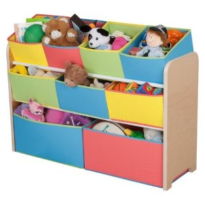Delta Children Deluxe Toy Organizer with Colorful Bins : Target